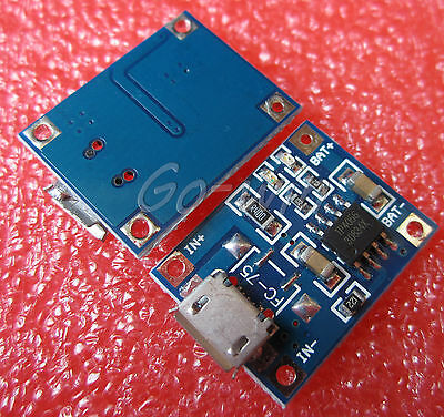 5pcs 5V Micro USB 1A Lithium Battery Charging Board Charger Module