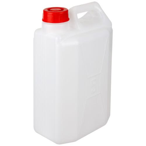 Plástico De Agua Gasolina Diesel Carrier Envase Bidón Highlander Blanco 5L