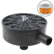 Compressor Air Muffler Accessories Silencer Canister Filter Plastic Useful