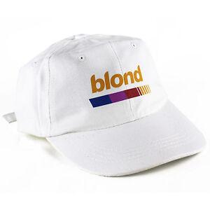 0173acebfed Blond Frank Ocean 6 Panel dad cap hat vaporwave 5 6god yeezus ovo ...