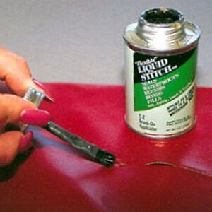 Liquid Stitch Flexible Repair Adhesive Leather Vinyl