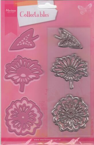 Marianne COLLECTABLES  FLOWERS//LEAF Dies//Stamps COL1304 Cuts Felt REDUCED