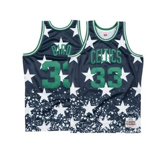 save off 66f27 93794 Details about Larry Bird Boston Celtics Mitchell & Ness Men's 4th of July  Swingman Jersey