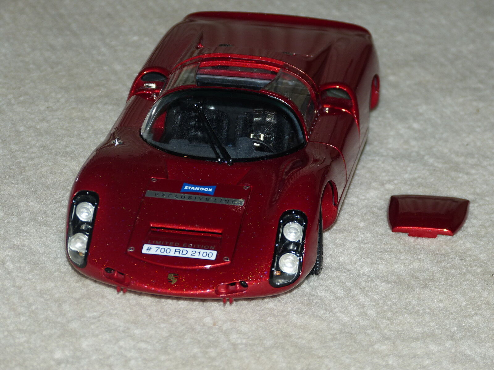 Exoto 1 18 18 18 SCR00003 - Porsche 910 1967 in Standox Crystal Rainbow, rot  | Qualität Produkte  ebc7be