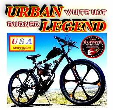"""COMPLETE DIY 2-STROKE 66CC/80CC MOTORIZED BIKE KIT WITH 26"""" MAG WHEEL BICYCLE"""