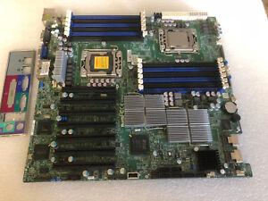 SuperMicro-X8DTH-6F-Server-Motherboard-intel-E5620-Heatsilks-IO-Shield