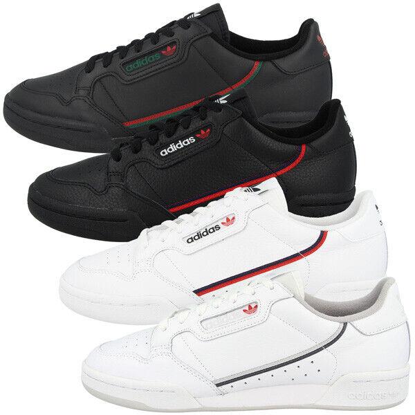 Adidas Continental 80 Freizeit Schuhe Originals Herren Sport Turnschuhe Turnschuhe