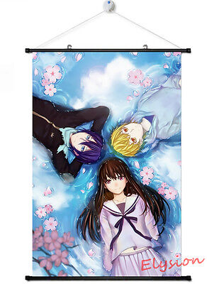 Home Decor Anime Japan Poster Wall Scroll Hot Noragami Yato Yukine Iki Hiyori
