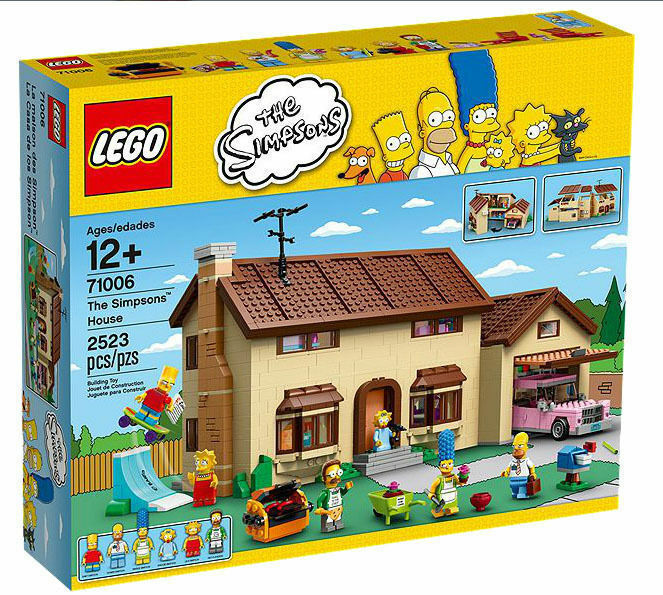 Lego the  simpsons house  71006     neuf