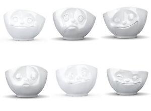 fiftyeight lustiges 6er schalen set porzellan kaffeeschale m slischale tasse ebay. Black Bedroom Furniture Sets. Home Design Ideas