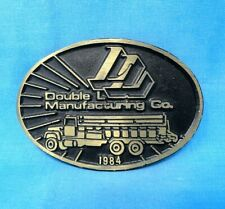 """CO NEW UNOPENED /""""DROTT/"""" HEAVY EQUIPTMENT COLLECTOR BELT BUCKLE~USA~HOOVER/'S MFG"""
