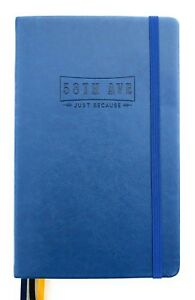 58th Ave Bullet Journal (blue) - Dot Grid - Executive Notebook - Planner