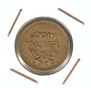 United-States-COIN-METER-TOKEN-Eagle-brass