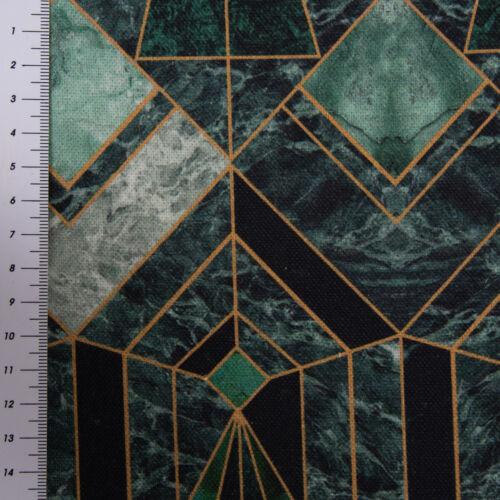 Belle Vie De Table Coureur ART DECO Marble Diamond marbre vert 40x160cm