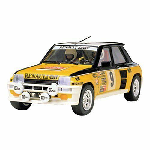 RENAULT 5 Turbo Rally Tamiya 24027 1/24 Sports Car Model