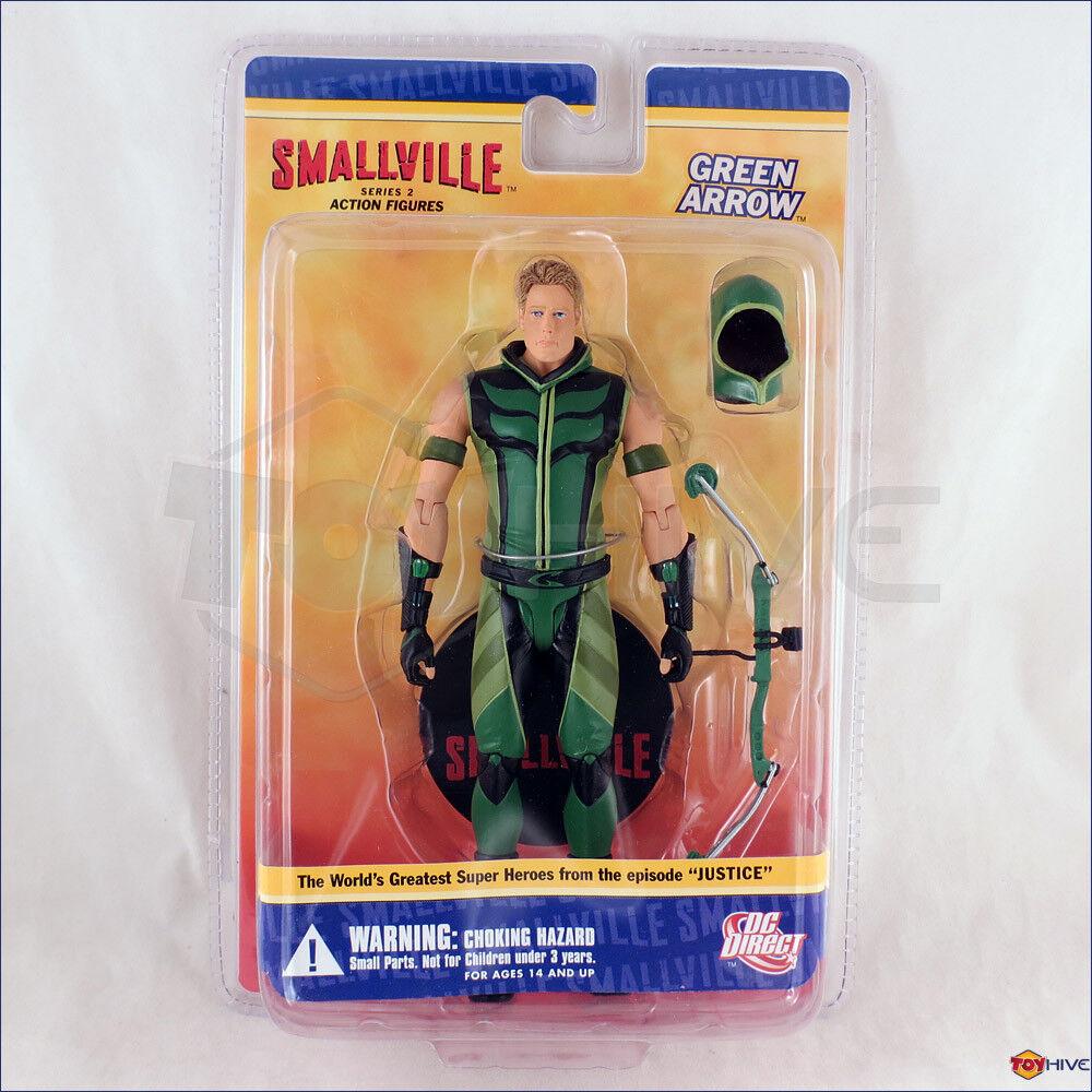 Smallville Flecha verde-acción figura serie 2 por DC Direct