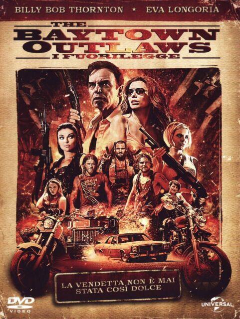 THE BAYTOWN OUTLAWS - I FUORILEGGE -2013- UNIVERSAL - DVD nuovo sigillato [dv65]