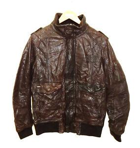 cheap prices ever popular great fit Details zu NEU CAMP DAVID Leder-Jacke braun Größe M ungetragen