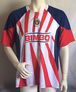 f6520694cea Chivas CD Guadalajara Liga MX Football Soccer Jersey Adult Size L | eBay
