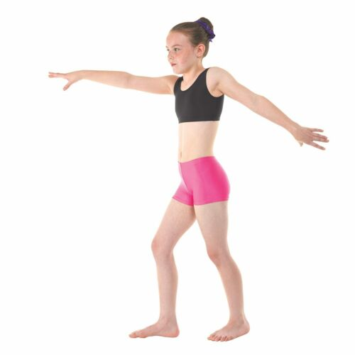 GYMNASTICS NYLON LYCRA COTTON LYCRA MICRO SHORTS IN 7 COLOURS DANCE