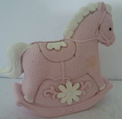 Ornaments Keepsakes Humble Baby Girl Keepsake Rocking Horse Money Box Christening Baby Shower Newborn Gift