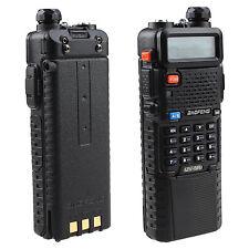 2 Way Police Handheld Radio Scanner Portable Digital Transceiver Fire FM Antenna