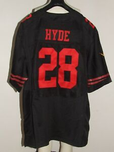 MAILLOT-T-SHIRT-FOOTBALL-AMERICAIN-NFL-49ERS-SAN-FRANCISCO-HYDE-28