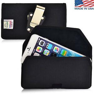 Turtleback-Apple-iPhone-6-4-7-Nylon-Holster-Pouch-Metal-Clip-Fits-Fosman-Case