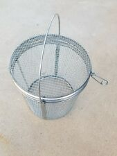 T 0175 R Parts Washer Accessory Basket Mesh 85 X 9 Inch Round With Lid
