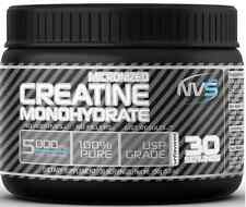 New NVS Labs Creatine Powder Unflavored 150g Micronized Monohydrate 30 Servings
