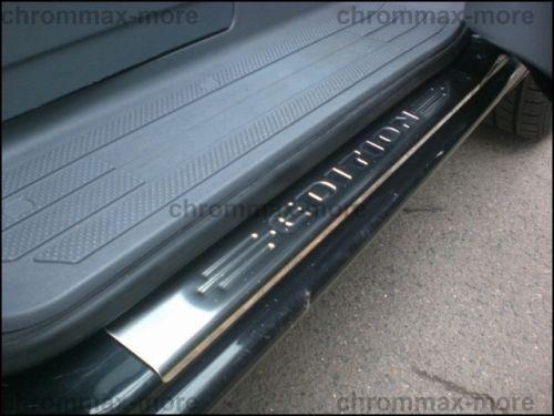 Mercedes Vito II Viano W639 Einstiegsleisten mit geprägtem Logo aus Edelstahl