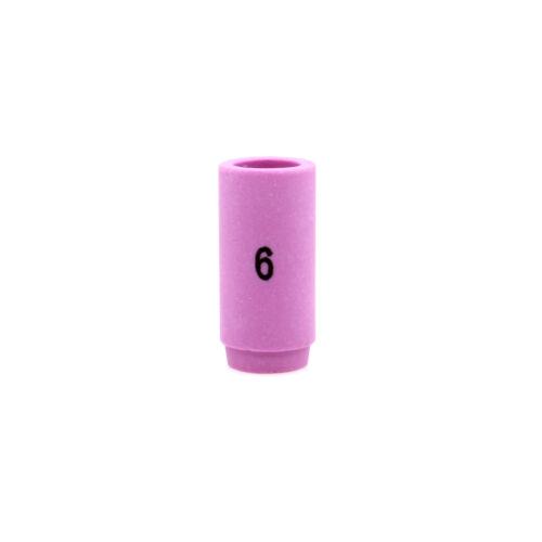 "13N10 #6 Alumina Nozzle Cup 1/""5//32 fit TIG weld Torch WP-9 WP-20 25 PK//10"