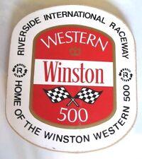 3 Nascar RIVERSIDE Raceway SoCa Stickers Mint 1960's HARD TO FIND