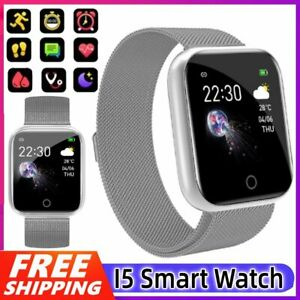 Fitness Tracker Fitbit Smart Watches Pedometer Heart Rate Blood Pressure Monitor