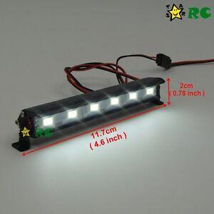 Rc 110 aluminum led light bar 6v 74v w jr plug f tamiya axial image is loading rc 1 10 aluminum led light bar 6v aloadofball Images