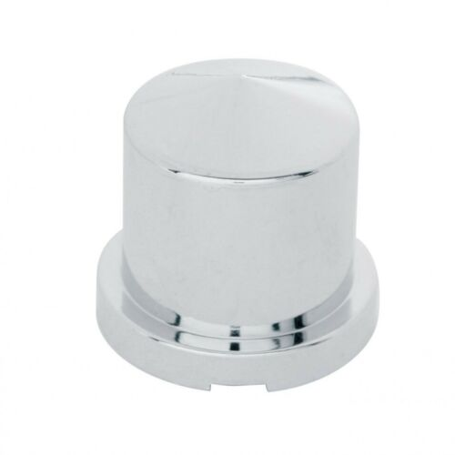 """60X Chrome Plastic 15//16/"""" X 1 1//2/"""" Pointed Round Push-On Nut Cover For Hex Bolts"""