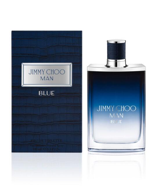 JIMMY CHOO MAN BLUE BY JIMMY CHOO-EDT-SPRAY-1.7 OZ-50 ML-AUTHENTIC-FRANCE