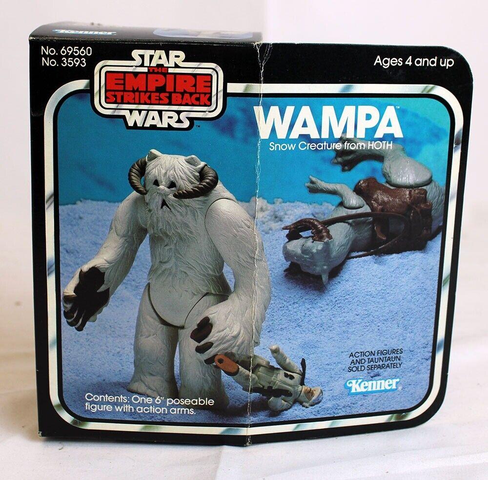 Kenner Star Wars Beast AssortSiet Vintage ESB Hoth Wampa Figure    C7 w  C7 Box