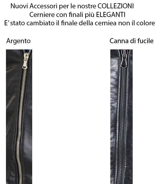 Giacca Giubbotto in Slim di Vera PELLE   Slim in Fit Ns Produzione Sped. Gratis  R16 eff43a
