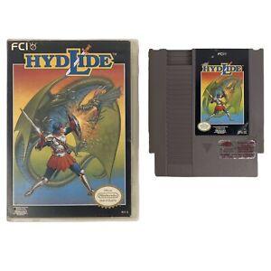 Hydlide-Nintendo-Nintendo-NES-1989-Game-Cart-And-Hard-Case-Tested