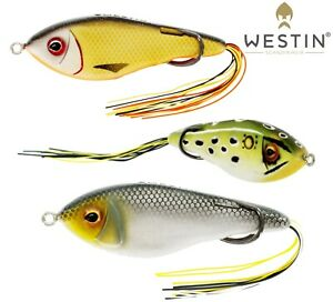 Westin-Koder-Schwimm-Hollowbody-9cm-17g-Topwater-Surface-Angeln-Hecht