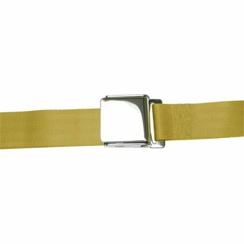 2 Point Retractable Airplane Buckle Camel Seat Belt diamond t bbs 2 din 1 Belt