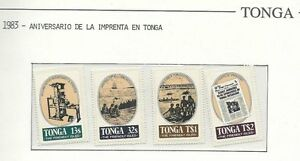 Tonga: Scott # 551 - 554 + 552 in Cover to New Zealand. TG158