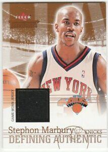 2004-05-Fleer-Throwbacks-Defining-Authentic-Jersey-Stephon-Marbury-Relic-Knicks
