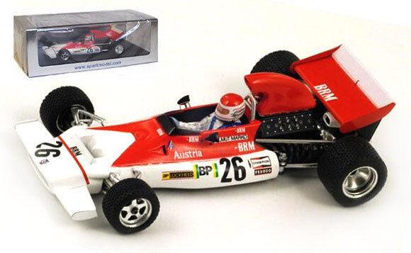 Spark S1154 BRM P153 # 26 gp monaco 1972-Helmut MARKO, échelle 1/43, | La Reine De La Qualité