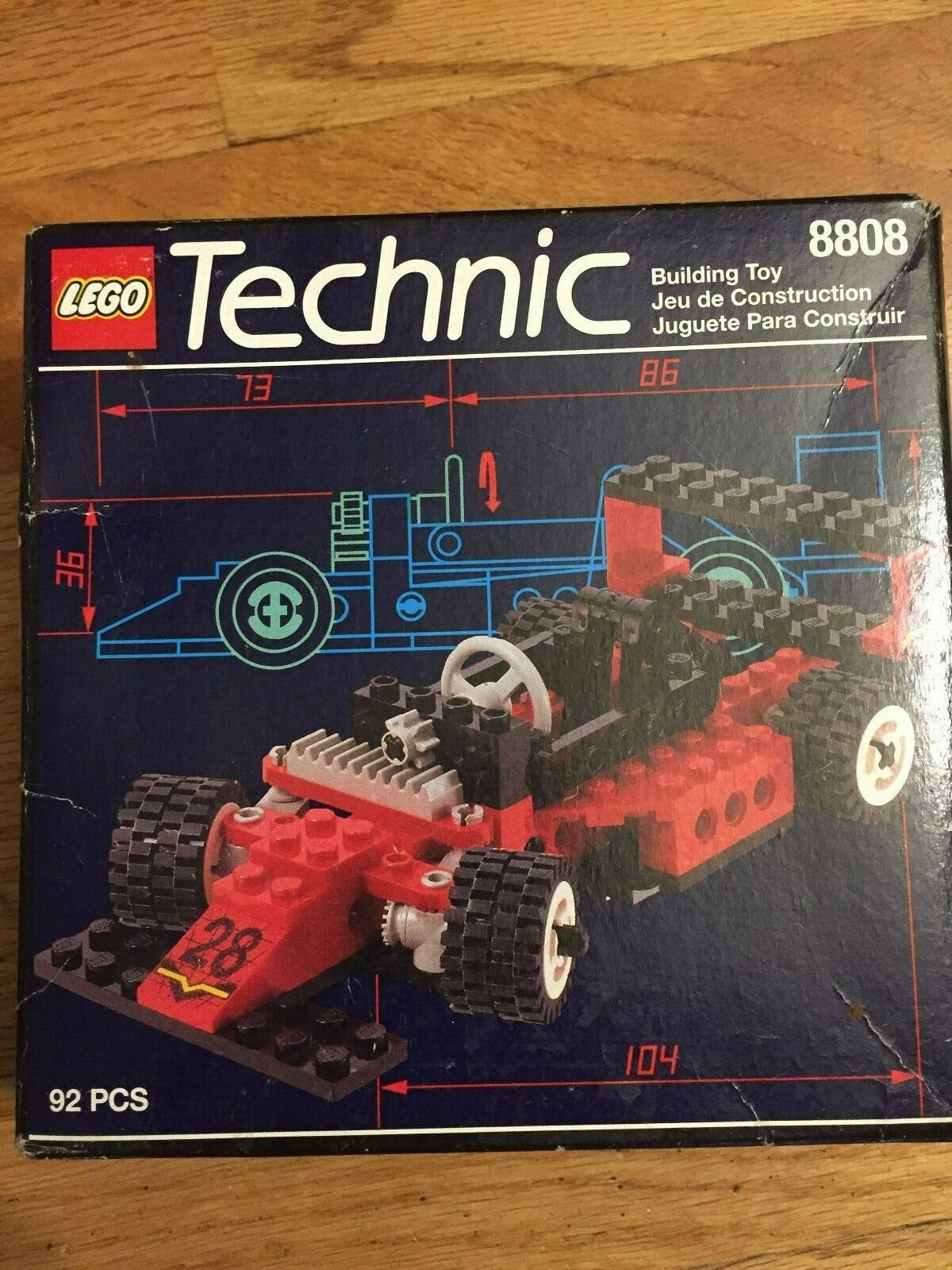 nuovo Lego Technic   8808 F1 Racer  Vintage Year 1994 Sealed Mint Cond.  consegna veloce