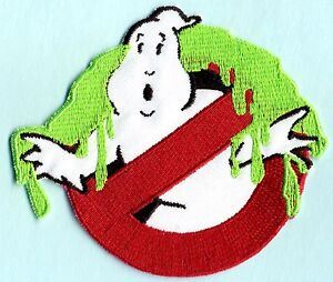 Adult-Sized-SLIMED-Ghostbusters-No-Ghost-Patch-with-a-male-HOOK-backing