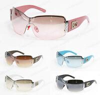 New Womens Oversized DG Sunglasses Eyewear Designer Shades Fashion Black White