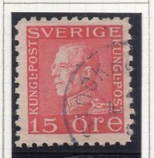 Sweden 1921-38 Early Issue Fine Used 15ore. 026718