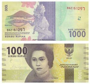 Indonesia-1000-RUPIA-2016-P-Nuovo-Design-NUOVO-BANCONOTE-UNC